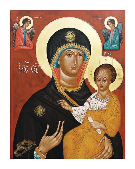 Богородиця Одигітрія з похвалою