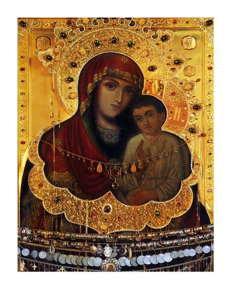 Образ Божої Матері Святогірської